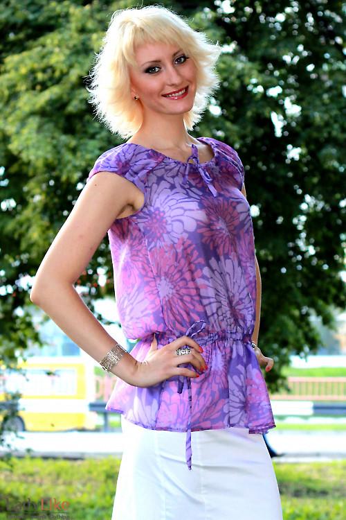 Туника фиолетовая  Деловая женская одежда