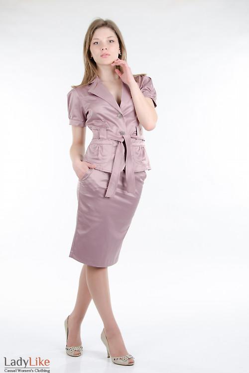 Юбка-карандаш с карманами Деловая женская одежда