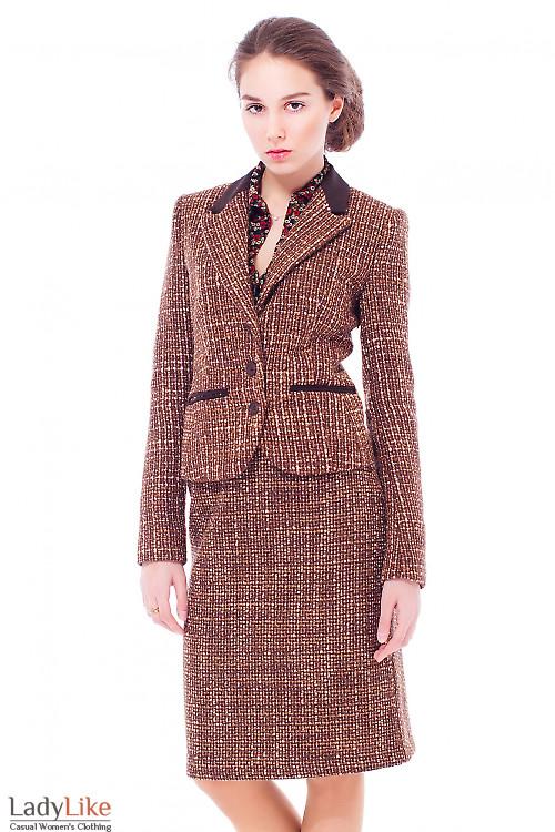 Купить жакет из шерсти Деловая женская одежда