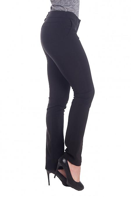 Сильно-зауженные брюки черного цвета