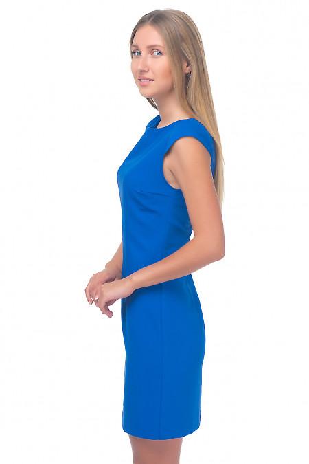 Купить платье цвета индиго Деловая женская одежда