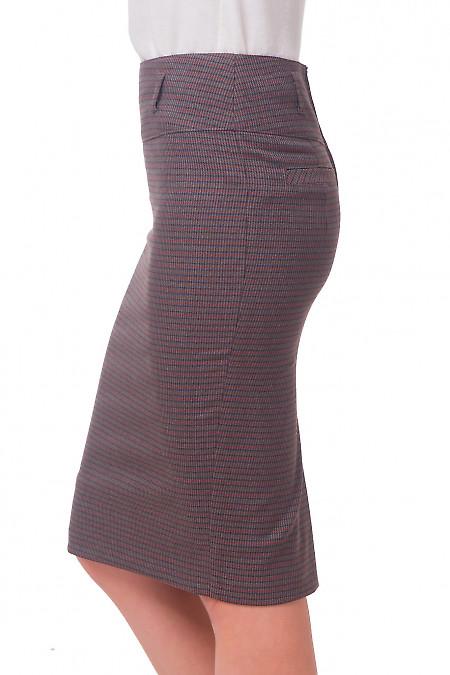 Теплая юбка-карандаш из шерсти