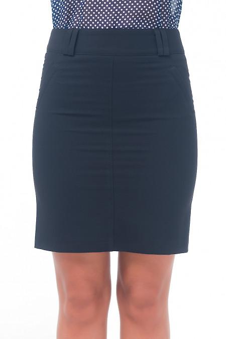 Спідниця класична чорна. Діловий жіночий одяг