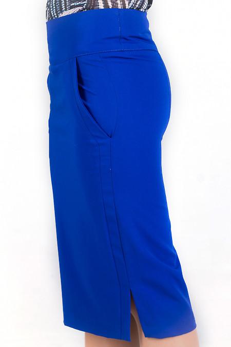 Фото Юбка цвета электрик Деловая женская одежда