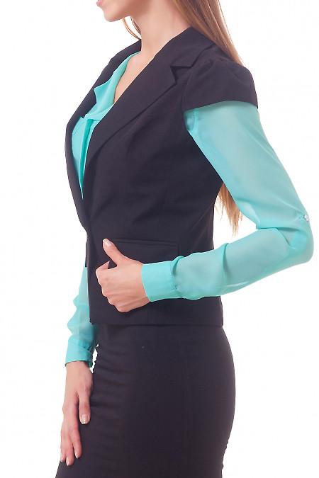 Фото Жилетка с карманами Деловая женская одежда