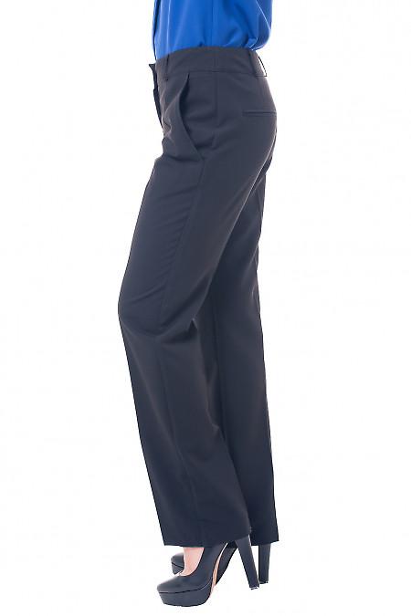 Деловые брюки от бедра черного цвета