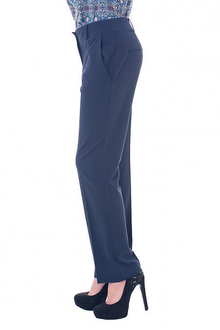 Сині брюки із стрілками