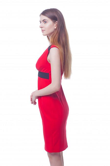 Купить нарядное красное платье Деловая женская одежда фото