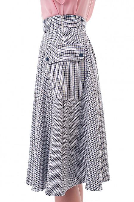 Теплая женская юбка