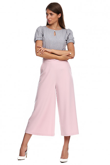 Купить брюки кюлоты. Деловая женская одежда фото