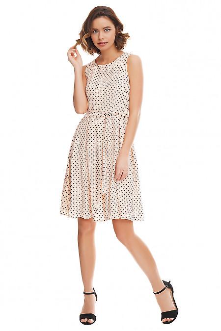 Купить платье розовое с пышной юбкой Деловая женская одежда фото