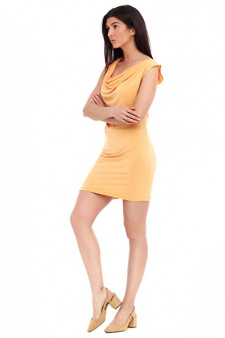 Летнее желтое платье