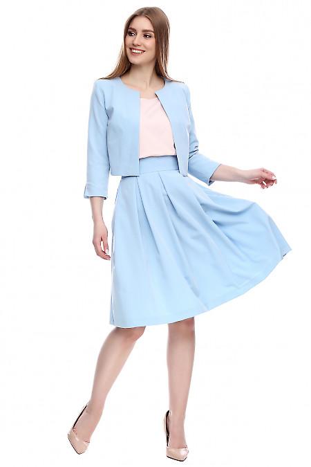 Юбка с карманами Деловая женская одежда фото