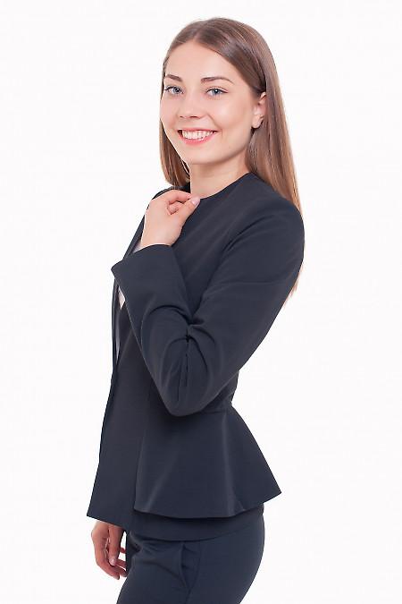 Жакет без воротника Деловая женская одежда фото