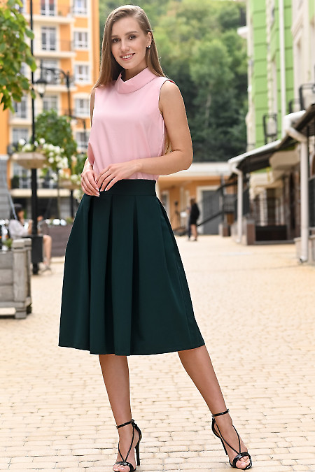Розовая женская блуза фото