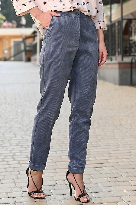 Вельветовые брюки фото