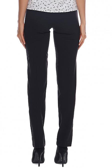 Женские черные брюки фото