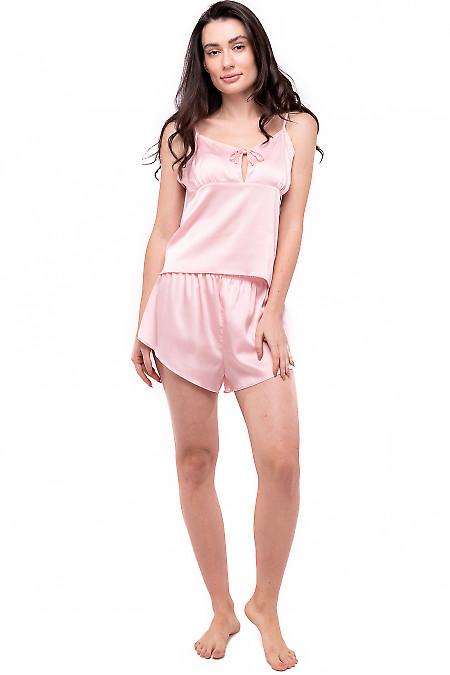Пижама женская персиковая. Деловая женская одежда