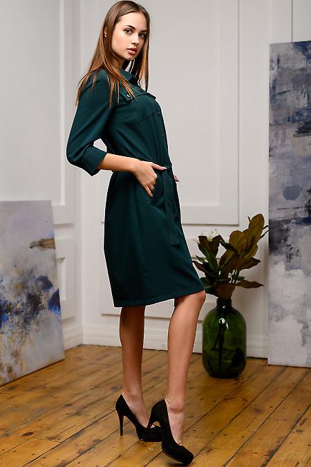 Женское платье сафари