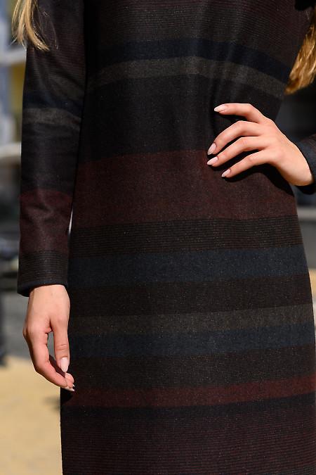 Платье из теплой ткани