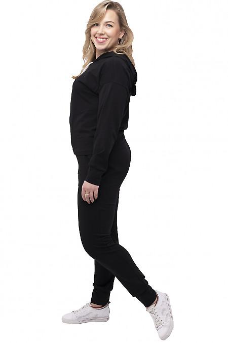 Женский трикотажный спортивный костюм