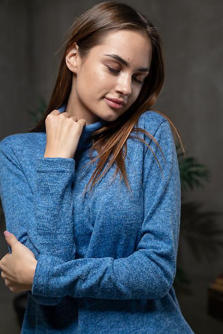 Синяя женская туника фото