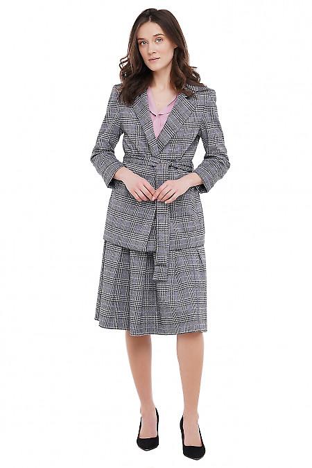 Жакет трикотажный Деловая Женская Одежда фото