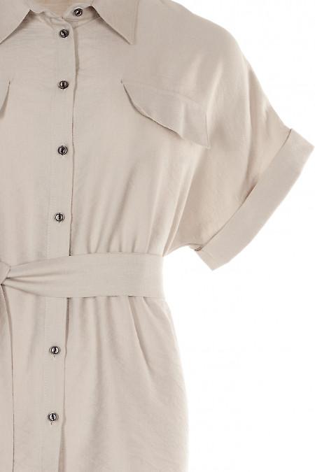 Блузка літня Діловий Жіночий Одяг фото