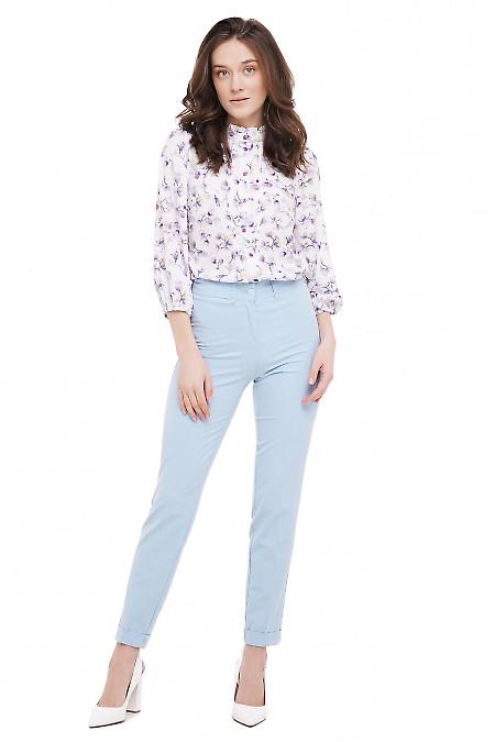 Блузка офисная Деловая Женская Одежда фото