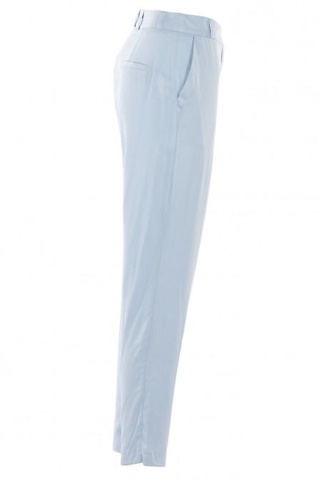 Блакитні завужені брюки
