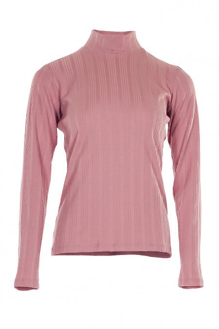 Гольф рожевий смугастий. Жіночий одяг.
