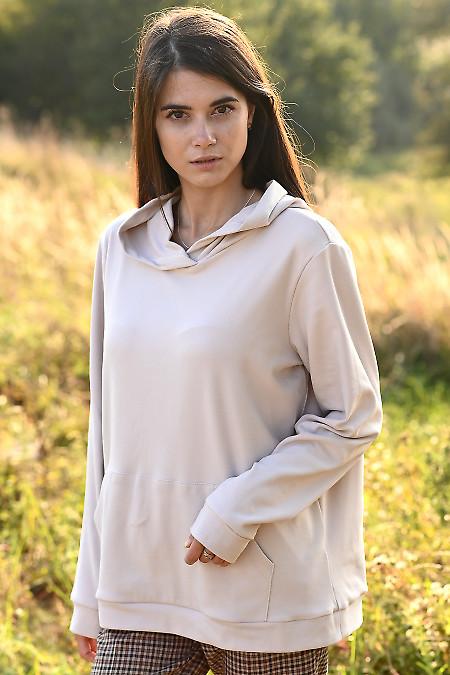 Тепле і м'яке молочне худі жіноче. Жіночий одяг купити.