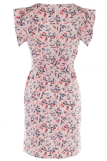 Летнее платье Деловая Женская Одежда фото