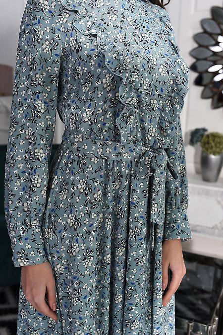 Нарядное весеннее платье фото