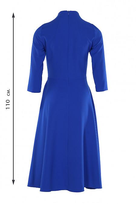 Купити плаття зі стійкою електрик. Діловий жіночий одяг