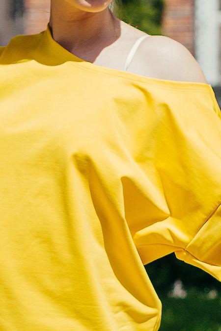 Купить спортивный костюм желто-черный женский. Женская одежда фото