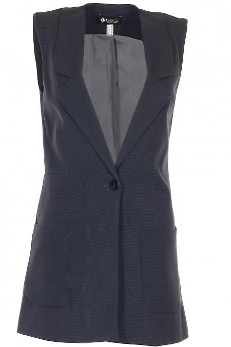 Жилетка тепла Діловий жіночий одяг фото