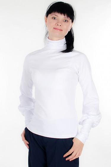 Гольф белый Деловая женская одежда
