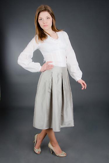 Юбка со складками Деловая женская одежда