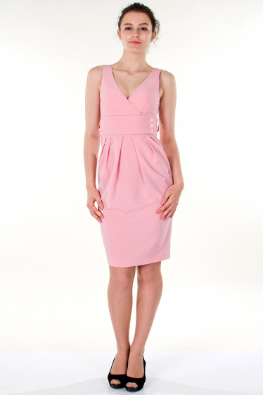 Фото Платье розовое вечернее Деловая женская одежда