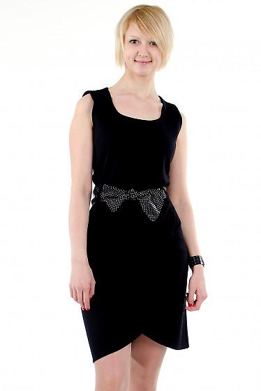Фото Платье тюльпан черное Деловая женская одежда