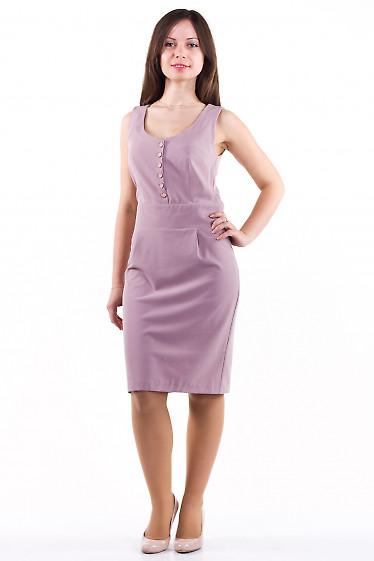 Фото Сарафан бледно-розовый Деловая женская одежда