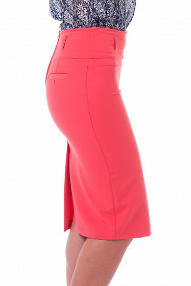 Строгая зауженная юбка-карандаш