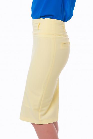 Купить желтую юбку Деловая женская одежда
