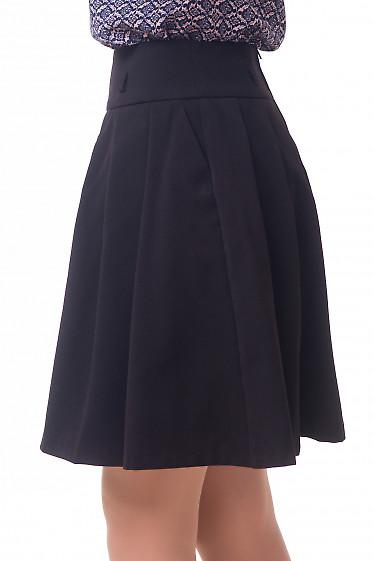 Купить юбку пышную теплую с карманами Деловая женская одежда