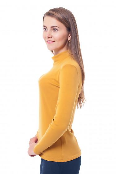 Купить гольф горчичный Деловая женская одежда фото