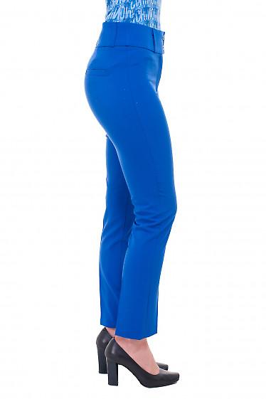 Купить брюки электрик. Деловая женская одежда фото