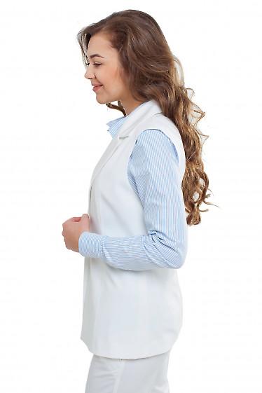 Летняя жилетка Деловая женская одежда фото