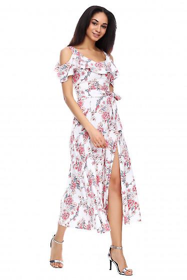 Платье в пол Деловая женская одежда фото