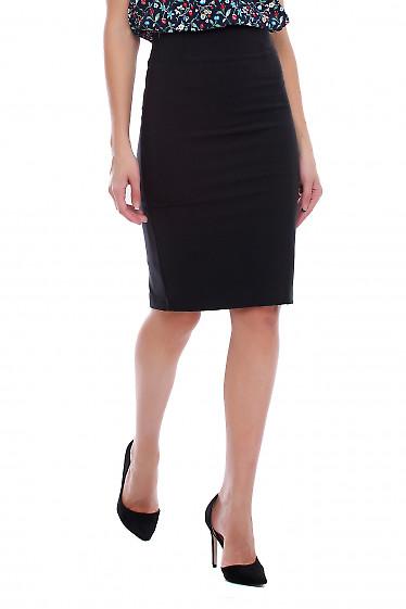 Юбка карандаш чёрная деловая. Деловая женская одежда фото